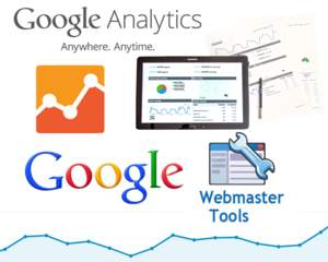 how to create a google analytics search console